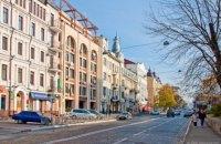 На столичной улице Богдана Хмельницкого частично ограничили движение до 27 декабря