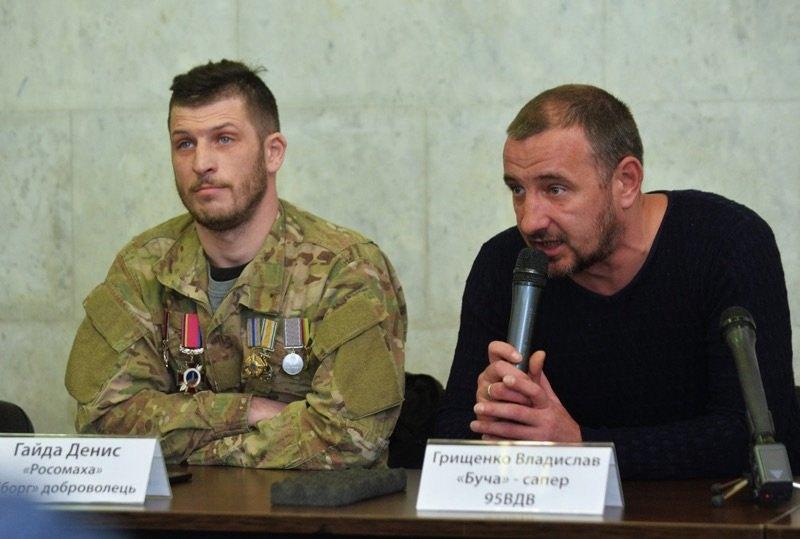Владислав Грищенко (справа)