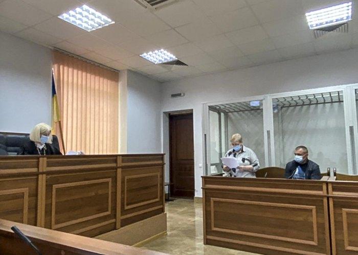 Головуюча Лідія Щебуняєва на засіданні в Шевченківському суді 31 травня 2021 року.