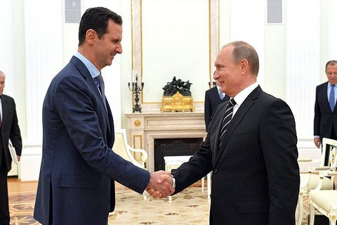 Путін заявив про швидке завершення військової операції в Сирії