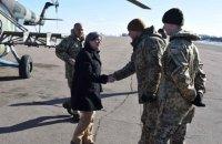 Американський сенатор Ернст і посол США Йованович відвідали Донбас