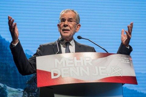 В Австрії на виборах президента лідирує прихильник ЄС