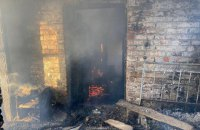 У пожежі на Вінниччині постраждали малолітні діти