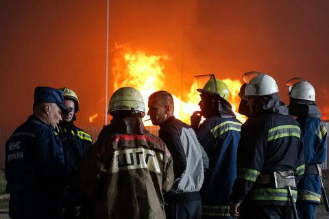 На газовій свердловині в Сумській області сталася пожежа