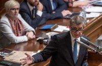 Парламент Чехії провалив вотум недовіри уряду Андрея Бабіша
