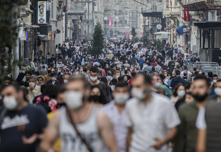Стамбул, Туреччина, 25 жовтня 2020.