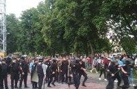 На футбольном матче в Черкассах ультрас подрались с полицией