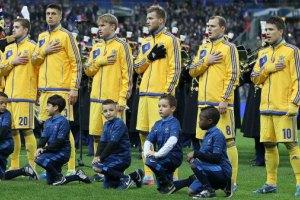 Збірна України досі випереджає Росію у рейтингу ФІФА