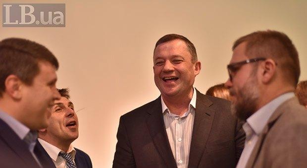 Слева направо: Вадим Ивченко, Александр Черненко, Ярослав Дубневич и Андрей Вадатурский