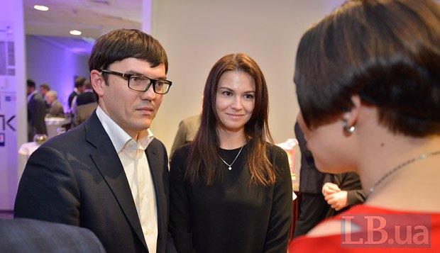 Андрей Пивоварский с супругой
