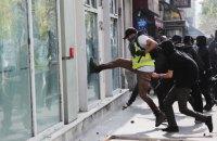 В Париже произошли столкновения на первомайской демонстрации (обновлено)