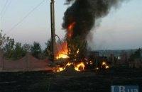 В Бортничах заживо сгорел человек