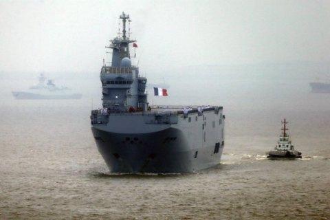 """ЗМІ: Франція виплатить Росії €1,2 млрд за розрив контракту щодо """"Містралів"""""""