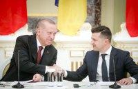 Зеленський у Нью-Йорку передав Ердогану список із 450 українських в'язнів Кремля