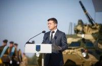 Зеленський сподівається, що війна на Донбасі закінчиться до кінця року
