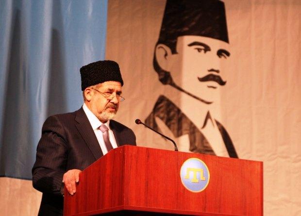 Refat Chubarov, Kırım Tatarları Mejlis Başkanı