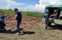 На околиці Бердянська знайшли 749 боєприпасів часів Другої світової