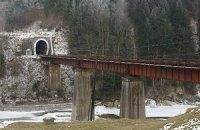 Укрзализныця начнет строительство нового тоннеля в Карпатах уже в 2012 году