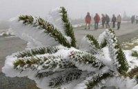 У четвер в Києві невеликий сніг, вночі до -15