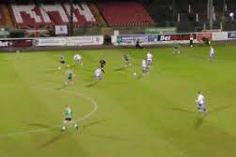 В матче чемпионата Северной Ирландии забит эпический автогол с 35 метров