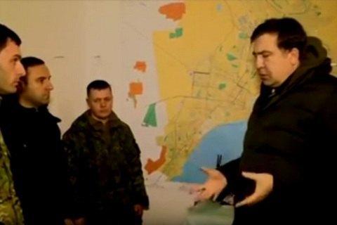МВД завело дело на Саакашвили за видео с передовой (обновлено)