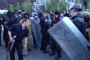 Узятих у заручники донецьких активістів відпустили