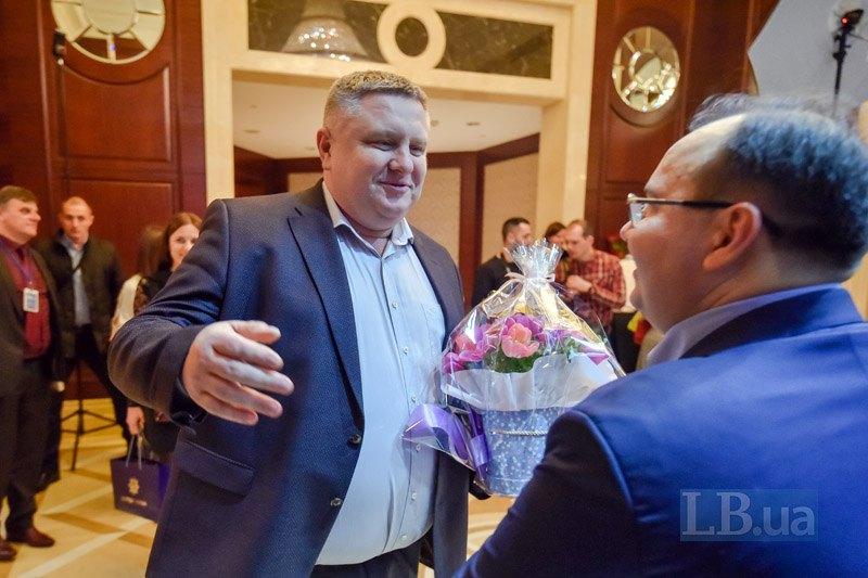 Начальник Главного управления Национальной полиции Киева Андрей Крищенко