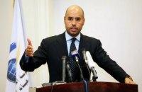 Ливийские повстанцы освободили сына Каддафи после пяти лет плена