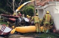 В Калифорнии вертолет упал на дом: 3 погибших