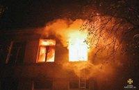 В Тернопольской области горела сельская школа