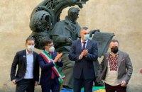 Перший український Шевченко в Італії