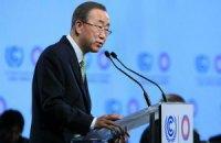 Генсек ООН закличе Порошенка і Путіна до виконання мінських угод