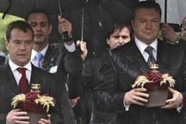 Медведев в Киеве