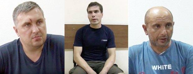 Слева направо : Евгений Панов, Редван Сулейманов, Андрей Захтей