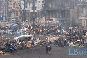 По Грушевського відновили рух автомобілів