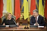Порошенко пригласил Мальту активнее участвовать в миссии ОБСЕ на Донбассе