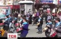 В Крыму школьников вывели на митинг в поддержку оккупационных властей
