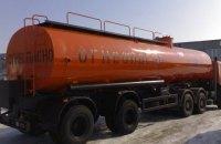 Сумская полиция ночью устроила погоню за грузовиком с нефтью