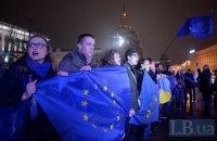 Украина сегодня отмечает годовщину Революции Достоинства