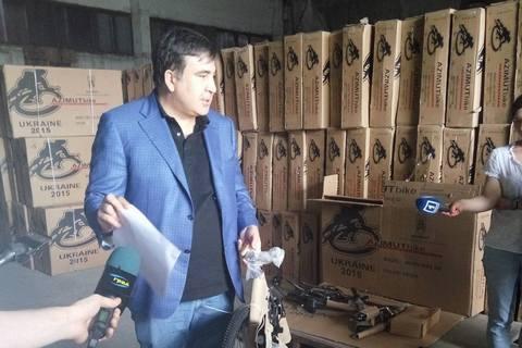 В Одессе раздадут детям более 11 тыс. контрабандных велосипедов, которые должны были утилизировать