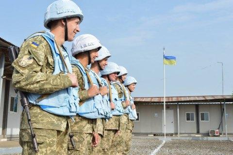 Заслуги украинских миротворцев позволяют рассчитывать на миссию ООН на Донбассе, - Порошенко