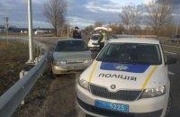 На одеській трасі під Києвом патрульні з гонитвою затримали п'яного водія