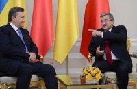 Янукович уже разговаривает с Коморовским