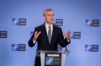 Генсек НАТО привітав зниження напруженості між РФ та Україною