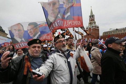 22% росіян негативно оцінюють ситуацію в країні