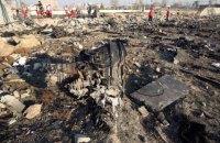 Офіс генпрокурора попросив Канаду надати запис, який свідчить, що літак МАУ в Ірані могли збити навмисно