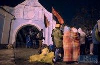 Ночь на Евромайдане прошла спокойно