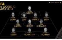 ФІФА назвала символічну збірну 2014 року