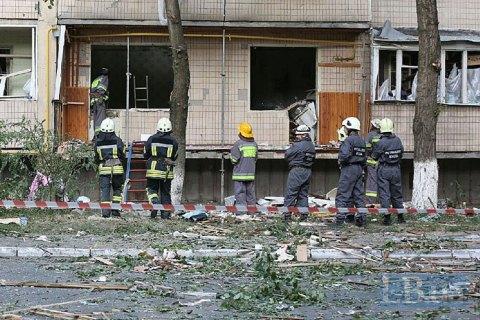 У постраждалій від вибуху багатоповерхівці в Голосієві відновлено енерго- та водопостачання, - КМДА