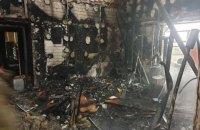 """На Донбасі сталася пожежа на базі військових парамедиків """"Ангели Тайри"""", постраждав волонтер"""